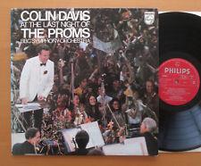 Philips 6588 011 Colin Davis en la Última Noche Proms de la BBC Symphony casi nuevo/Excelente