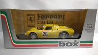 1/43 BOX MODEL 8436 FERRARI 250 LM #26 P. DUMAY G. GOSSELIN 2nd 24H LE MANS 1965