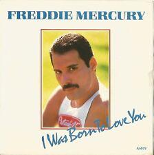 QUEEN. FREDDIE MERCURY. I WAS BORN TO LOVE YOU. SINGLE VINILO. EDICIÓN HOLANDESA