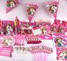 Kids Unicorn Theme Birthday Party Supplies Favor Tableware Home Decor Gift