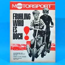 DDR Illustrierter Motorsport IMS 7/1969 Ford Capri Volvo 164 Freiberg T