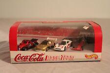 COCA COLA HOT WHEELS RACE TEAM 4 CAR SET