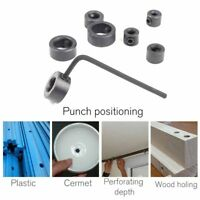 Drills Bit Positioning Circle Round Woodworking Screw Clamp Adjustment Fittings
