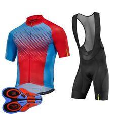 Nuevo Para Hombres Equipo de Ciclismo Camiseta Pantalones Pantalones Cortos Set Bici Bicicleta Deportes Trajes uniforme
