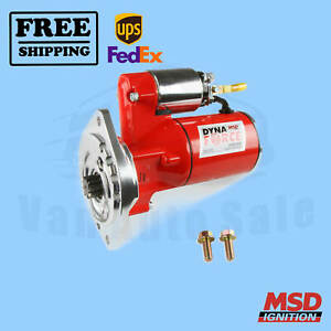 Starter Motor MSD compatible with Ford Thunderbird 1977-1993