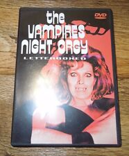 The Vampires Night Orgy (DVD, 2003; Letterboxed) Sinema Diable Eclectic DVD