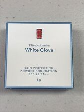 NIB Elizabeth Arden White Glove Skin Perfecting Powder Foundation SPF 20 NUDE