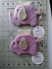 Hallmark Felt Elephant Gift Card Holders 2 count