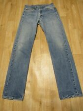 Vintage Levis 501 Jeans 30  x 33 light wash grunge usa