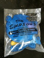 1997 Subway Toy Donut Chasing Homer from The Simpsons - RARE