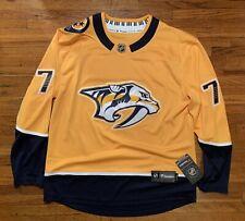 Fanatics Men's PK Subban #76 Nashville Predators Breakaway Hockey Jersey Size M