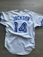 Darrin Jackson Game Used Worn 1993 Toronto Blue Jays Signed Jersey
