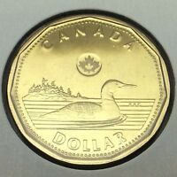 2013 Canada 1 One Dollar Loonie Canadian Uncirculated Coin Not In Case C049