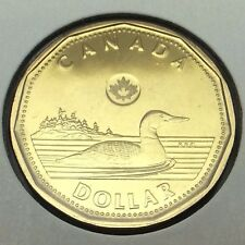 2013 Specimen Canada 1 One Dollar Loonie Canadian Coin Not In Case B049