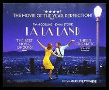 LA LA LAND * CineMasterpieces ORIGINAL SUBWAY MOVIE POSTER 2016 RYAN GOSLING