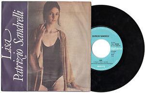 "7"" PATRIZIO SANDRELLI Lisa (Teen Italiana 78) obscure Italian pop sexy RARE NM!"