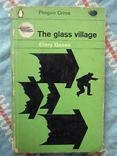 Penguin Book C1757 The Glass Village by Ellery Queen 1963 Impossible Murder