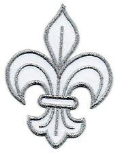 Patch ecusson brodé FLEUR DE LYS roi de france royal embleme insigne royal