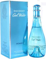 Cool Water By Davidoff 3.3/3.4oz. Deo Spray For Women New In Box