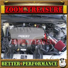 RED CHF 1997-2005/97-05 MONTE CARLO/GRAND PRIX/INTRIGUE 3.8L V6 AIR INTAKE KIT