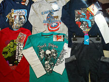 AMAZING WINTER SUMMER NEW BUNDLE OUTFITS BOY CLOTHES 6/8 YRS(3)NR224