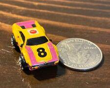 Micro Machines Ferrari 308 Yellow W/Pink #8 NSK 1989 Galoob Good Condition