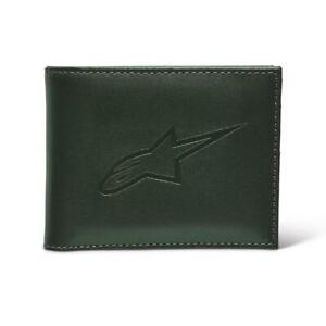 NEW Alpinestars Ageless Leather Wallet -Military from Moto Heaven
