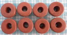 8 Red Airlock Grommet For Homebrew Fermenting Bin Bucket Lids & Fermenter Caps