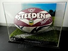 ✺Signed✺ STEVE MENZIES Manly Sea Eagles Football COA Jersey 2017