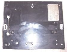 COLUMBIA AG PHONOGRAPH BED PLATE AND ID TAG