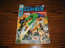 Marvel - Sumariner #34 - Prelude to Defenders! Glossy Vg+ 1971