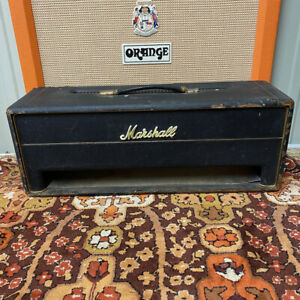 Vintage 1960s Marshall JMP JTM Super Lead Bass 100w Plexi Box Spares or Repairs