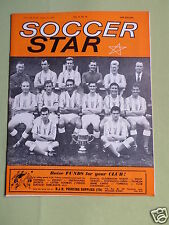 SOCCER STAR - UK FOOTBALL MAGAZINE - 31 AUG 1963 - COVER PIC - STOKE CITY