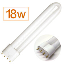 18w Aqua One Compatible Light Bulb 4 Pin for Aquarium Fish Tank (white)