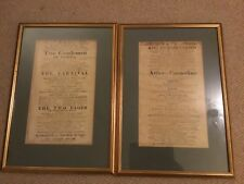 More details for two 19th century theatre royal  covent garden shakespeare fliers 1819,1821