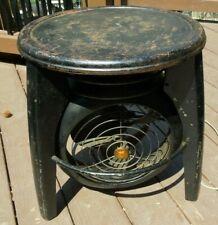 Rare Mid Century Modern MCM Atomic Era Vornado Stool / Table Electric Fan Works