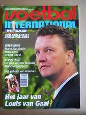 VOETBAL INTERNATIONAL 06-05-1998 Louis Van Gaal   [P65]