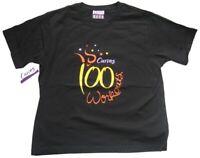 CURVES Damen T-Shirt / Gr. M / Schwarz mit Motiv / NEU