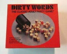 Dirty Words Dice Classic Adult Party Game Naughty Funny Sentences