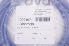 LIBERTY PC6BS035BL cat 6 stp patch 35' blue