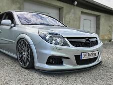 Spoilerschwert Frontspoilerlippe Splitter aus ABS Opel Vectra C OPC Facelift ABE