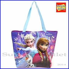 Disney Frozen Elsa Anna Tote Beach Shoulder  Hand Bag