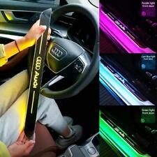 Auto Magnetic LED Light Pedal Acrylic USB Power Moving LED Welcome Pedal Car Scu