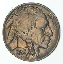 1937 Indian Head Buffalo Nickel - Walker Coin Collection *373