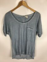 YAYA Shirt, Größe M, blau, 100% Baumwolle