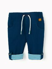 John Lewis Baby Roll Up Trousers Navy 3-6 MTHS BRAND NEW FREE P&P BEST PRICE