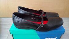 Brand New POD Girls Black Leather Upper Shoes Euro 35/UK 2.5