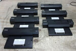 Lot of 7*Dell PR02X 035rxk Laptop Docking Station Replicator SEE NOTES