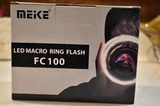 Led Macro Ring Flash Fc 100 will fit Nikon Canon and other cameras.