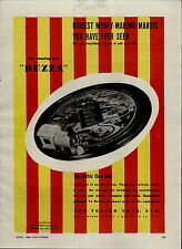 1946 PAPER AD Electric Toy Train Choo Choo Buzza Jarvis Smith Toylines Tot Test